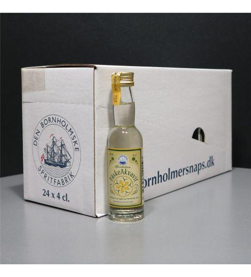 Den Bornholmske Spritfabrik Påskeakvavit 40%, 4cl.