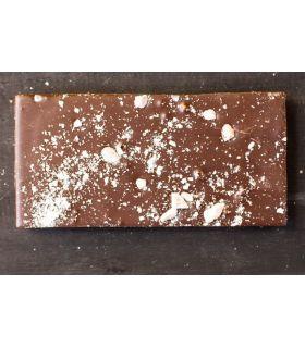 Svaneke chokoladeri plade mandler mørk 70% Fairtrade