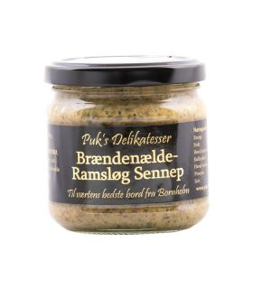 Puks delikatesser Brændenælde- Ramsløg Sennep