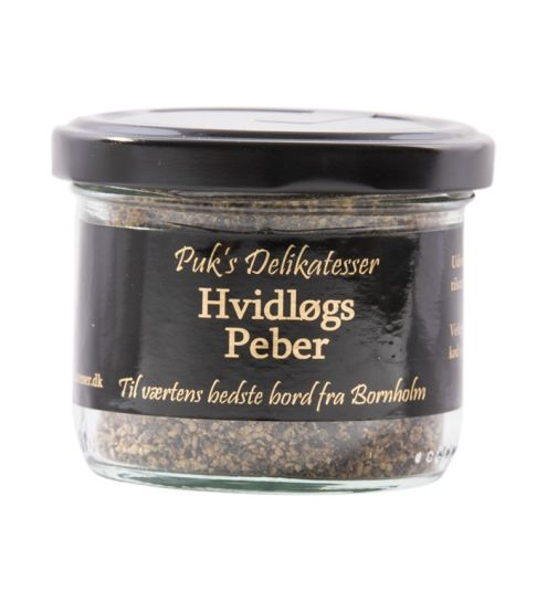 Puks delikatesser Hvidløgs peber
