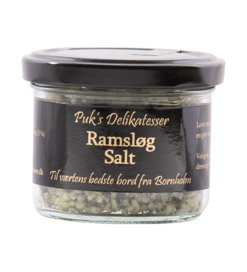 Puks delikatesser Ramsløg salt