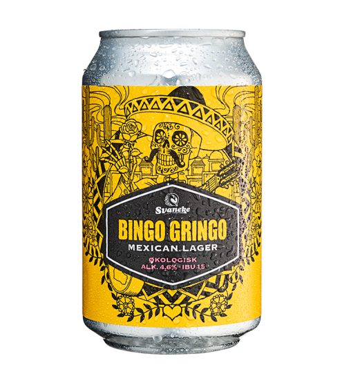 Svaneke Bryghus Økologisk Bingo Gringo Mexican Lager, 33 cl.