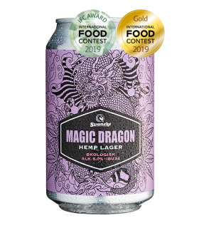Svaneke Bryghus Økologisk Magic Dragon Hemp Lager, 33 cl.