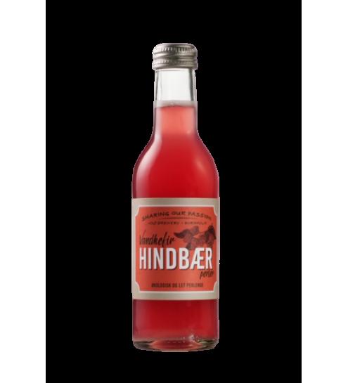 HINDBÆR Økologisk Vandkefir 250 ml