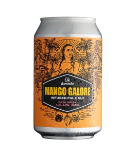 Svaneke bryghus Økologisk Mango Galore Infused Pale Ale