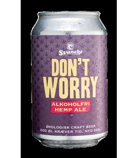 Svaneke Bryghus Økologisk Dont Worry Hemp Ale (alkoholfri)