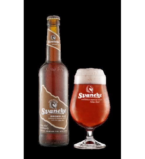 Svaneke Bryghus Økologisk Brown Ale, 50cl.