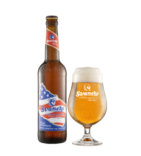 Svaneke Bryghus Økologisk American Pale Ale, 50cl.