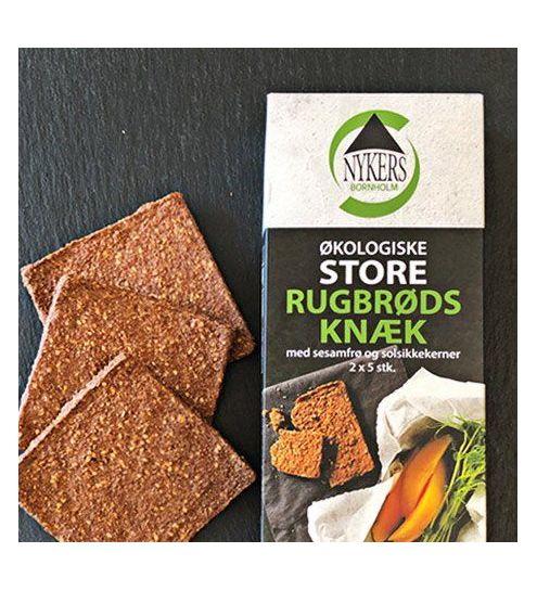 Nykers Økologiske Bornholmske Store rugbrøds knæk