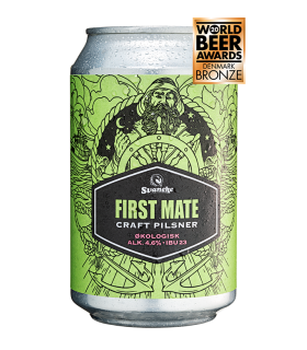 Svaneke bryghus Økologisk First mate craft pilsner