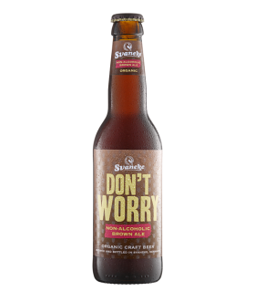 Svaneke bryghus Økologisk Dont Worry Brown ALE (alkoholfri), 33cl.