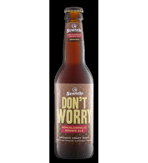 Svaneke bryghus Økologisk Dont Worry Brown ALE 33 cl. (alkoholfri)