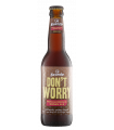 Svaneke bryghus Økologisk Dont Worry Brown ALE (alkoholfri), 33cl.