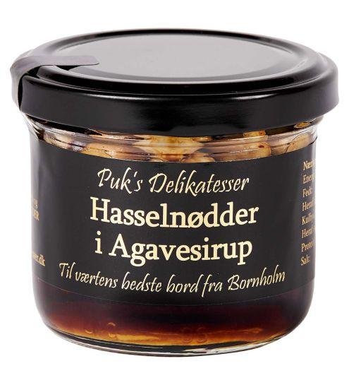 Puks delikatesser Hasselnødder i Agavesirup