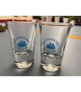 Den Bornholmske Spritfabrik snapseglas