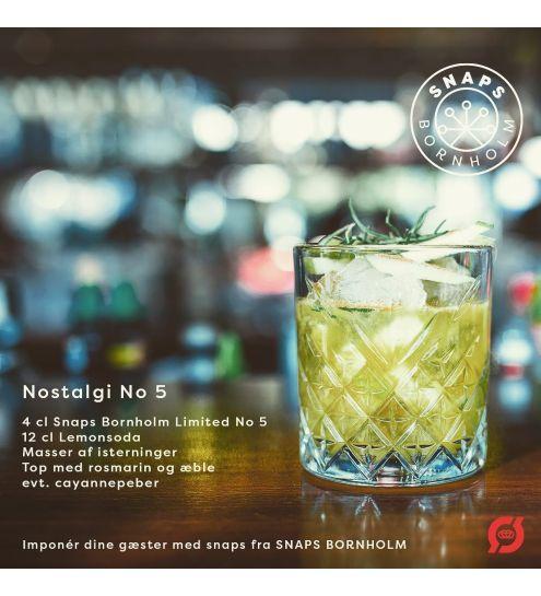 Snaps Bornholm № 5 Limited Edition Æble og vanilje snaps