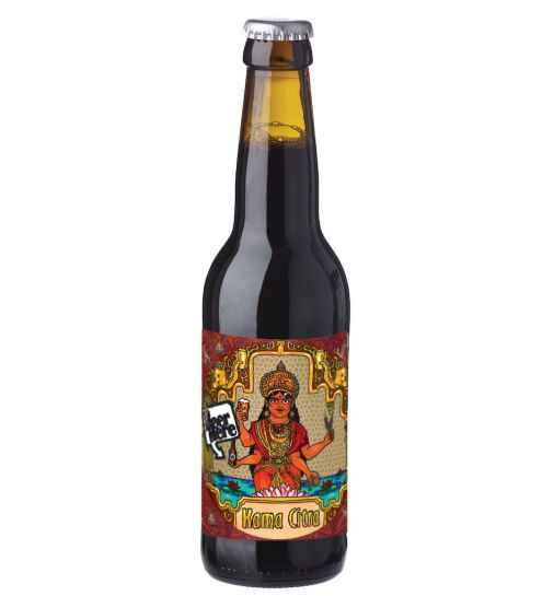 Beer Here Kama citra brown ale, 330ml.