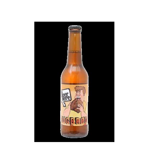 Beer Here Rugbrød, 330ml.