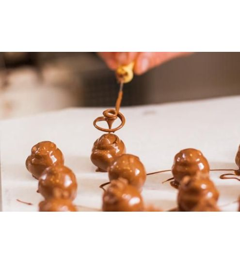 Svaneke chokoladeri fyldte chokolader 12 stk.
