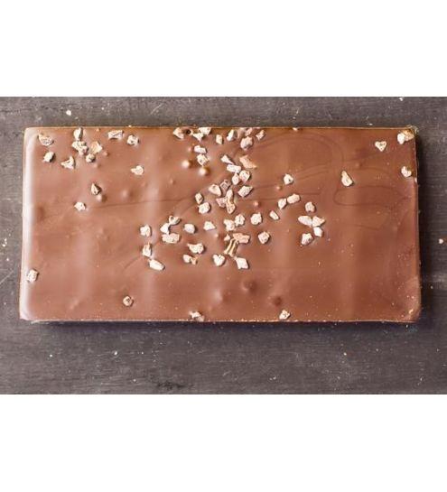 Svaneke chokoladeri plade Ren Mørk Chokolade med kakaonibs 70% Fairtrade
