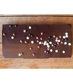 Svaneke chokoladeri plade Dark Milk Karamel Crisp Chokolade